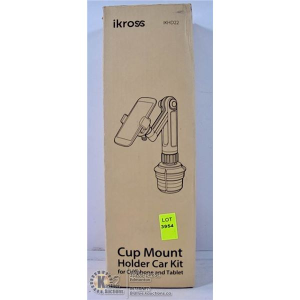 CUP MOUNT CELLPHONE AND TABLET HOLDER FOR CAR.
