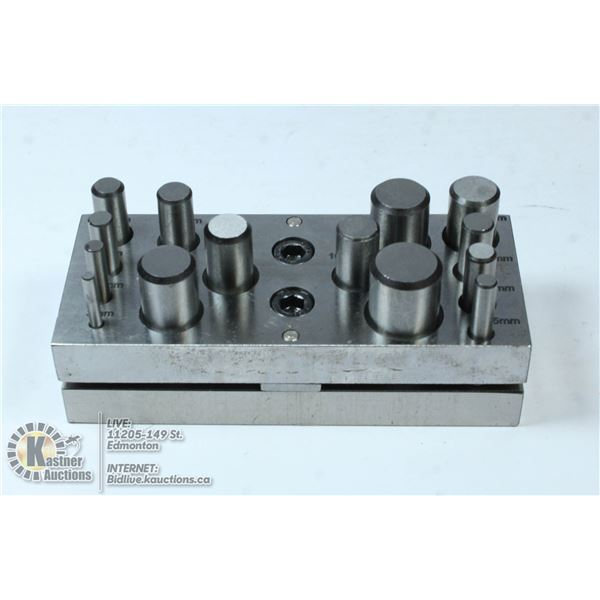 DISC CUTTER SET WITH 14 PUNCH