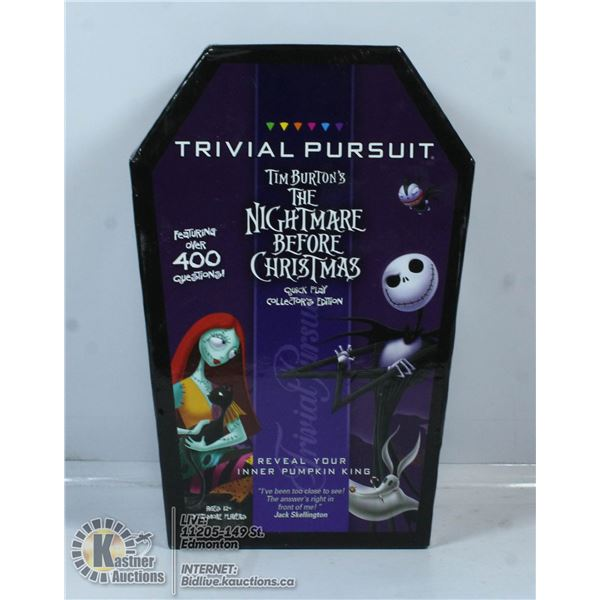 TRIVIAL PURSUIT - THE NIGHTMARE BEFORE CHRISTMAS