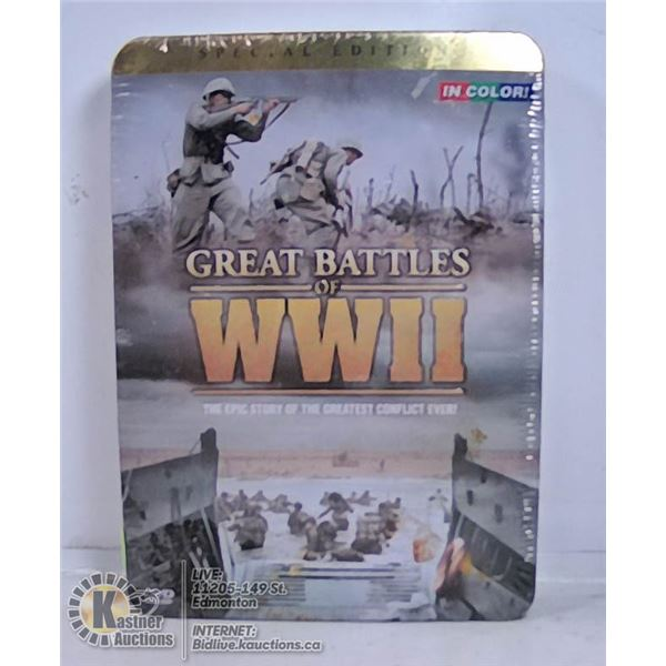 GREAT BATTLES OF WWII IN COLOR DVD SET
