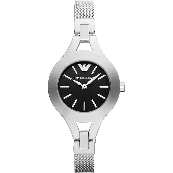 NEW EMPORIO ARMANI 28MM M-OF-PEARL DIAL MSRP $256