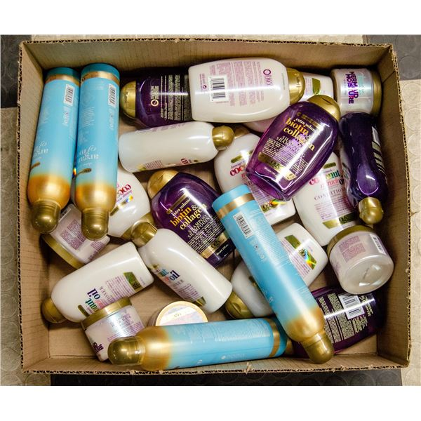 FLAT LOT OF HAIR PRODUCTS