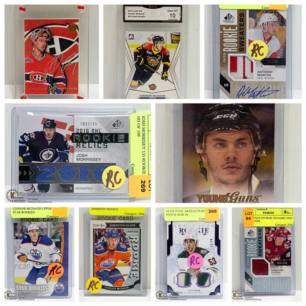 FEATURED HOCKEY CARDS