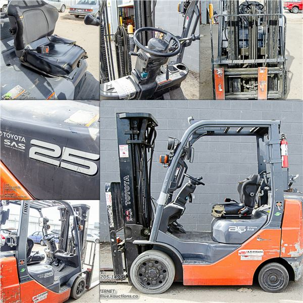FEATURED PROPANE FORKLIFT