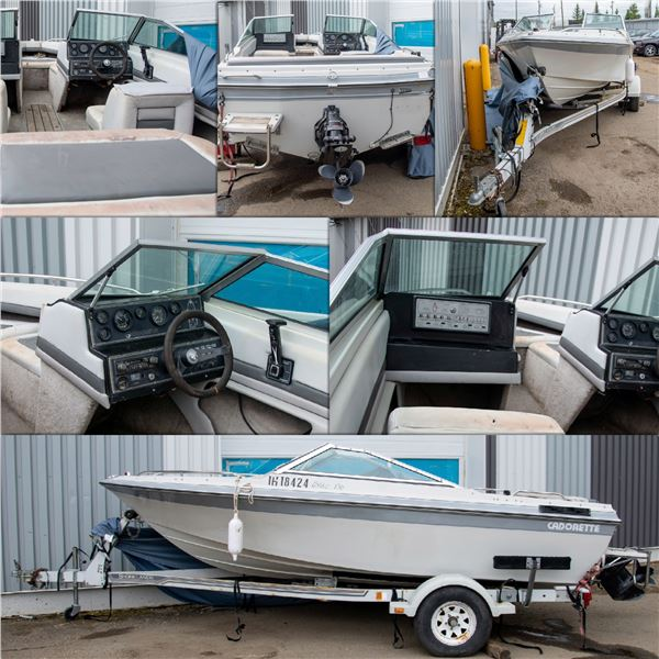 FEATURED 1988 CODERETTE ELITE 156 BOAT AND MOTER