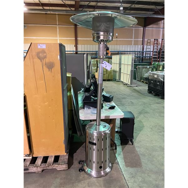 PARAMOUNT L10-SS-P P STAINLESS STEEL PROPANE OUTDOOR PATIO HEATER