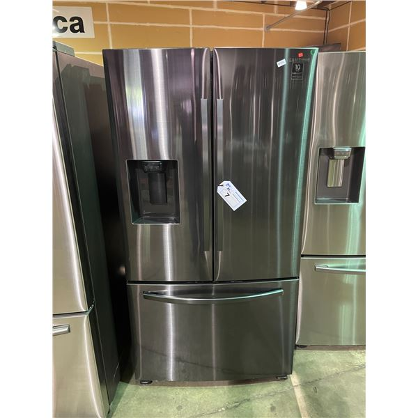 SAMSUNG RF27T5201SG/AA BLACK STAINLESS STEEL 27 CUBIC FT FRENCH DOOR BOTTOM FREEZER REFRIGERATOR