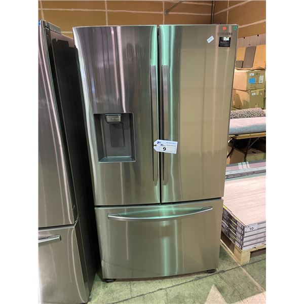 SAMSUNG RF27T5201SR/AA STAINLESS STEEL 28 CUBIC FT FRENCH DOOR BOTTOM FREEZER REFRIGERATOR WITH