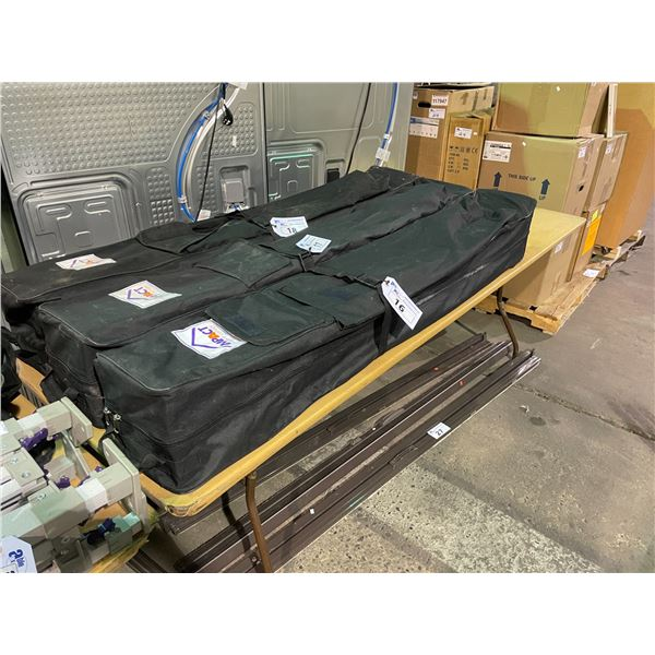 IMPACT 10' X 10' INSTANT CANOPY IN BLACK TRAVEL BAG