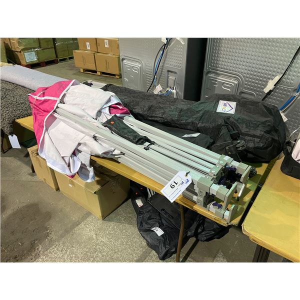 IMPACT 5' X 5' INSTANT CANOPY IN BLACK TRAVEL BAG