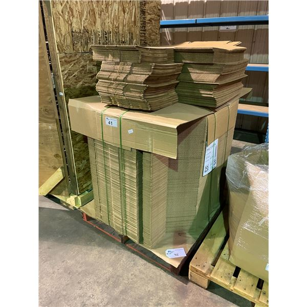 PALLET OF APPROXIMATELY 250 PRODUCT BOXES