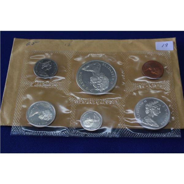 Canada Coin Set (1) - 1965, Silver