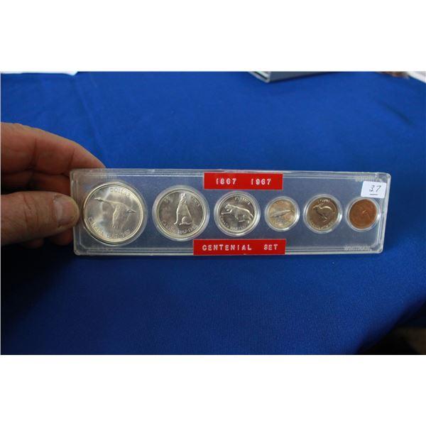 Canada Coin Set - (1) - 1967; Silver