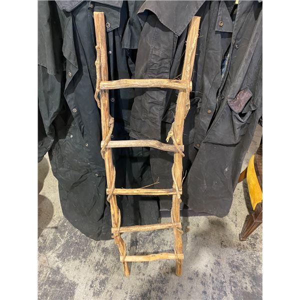 Rustic decor ladder
