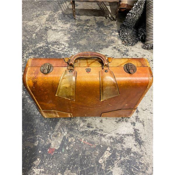 McBrine vintage suitcase