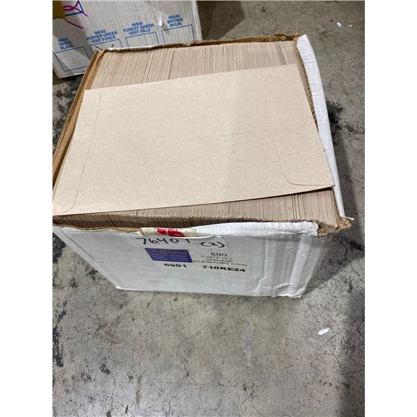 Case envelopes 7.5x10