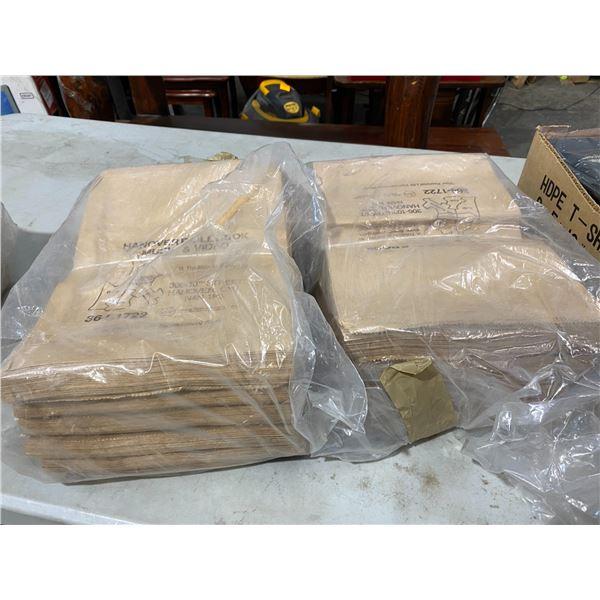 4 bundles paper bags