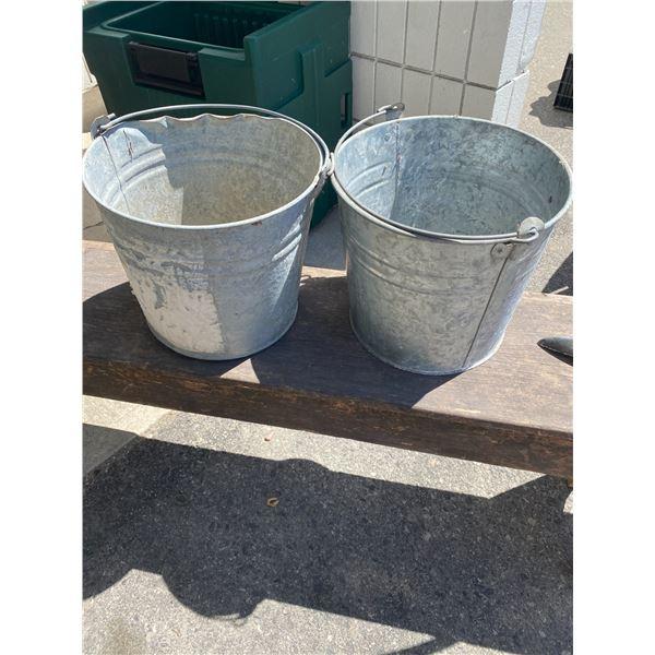 2 pails
