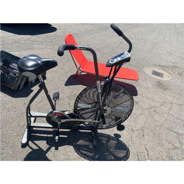 Schwann airdyne exercise bike
