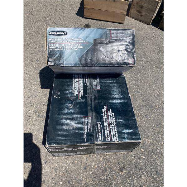 Industrial ceiling mount garage heater 2