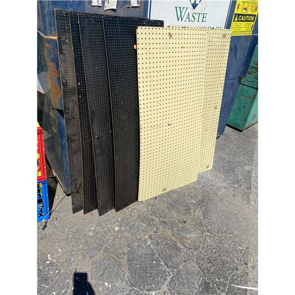 Lot of peg boards