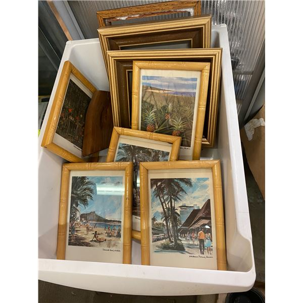 Lot pictures and frames
