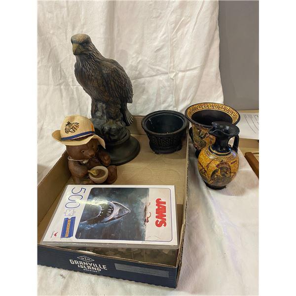 Lot collectibles eagle tal broken