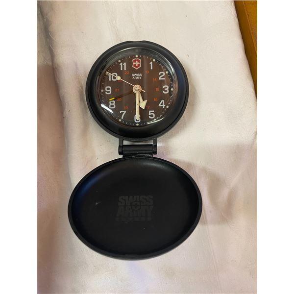 Swiss army brand pocket clock