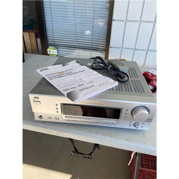 JVC receiver