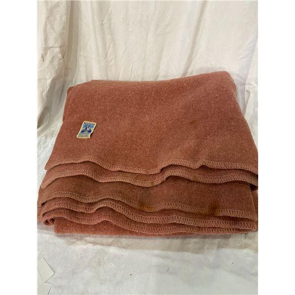 Ken wood wool blanket