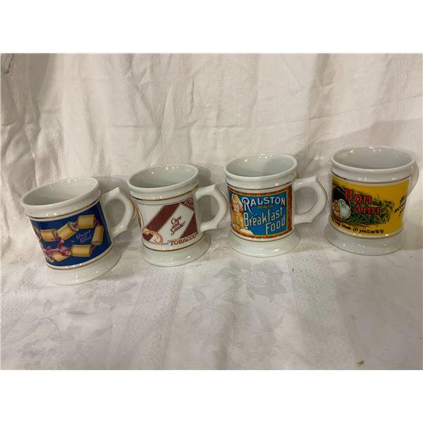 Franklin Mint advertising mug collection