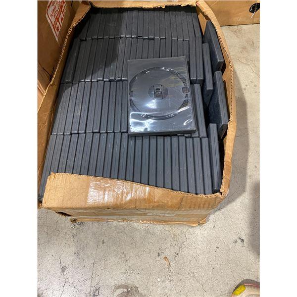 Case of empty dvd cases