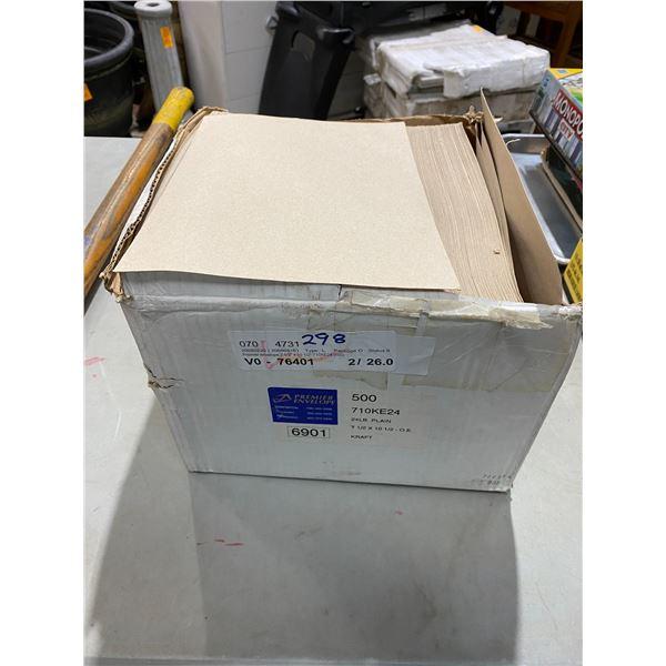 Case envelopes