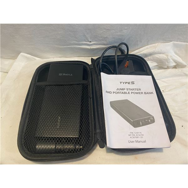 Jump starter and portable power bank
