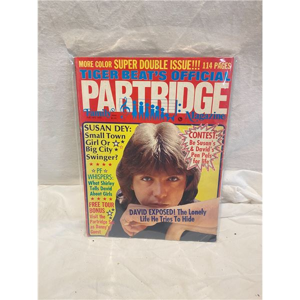 Tiger Beats official partridge family magazine