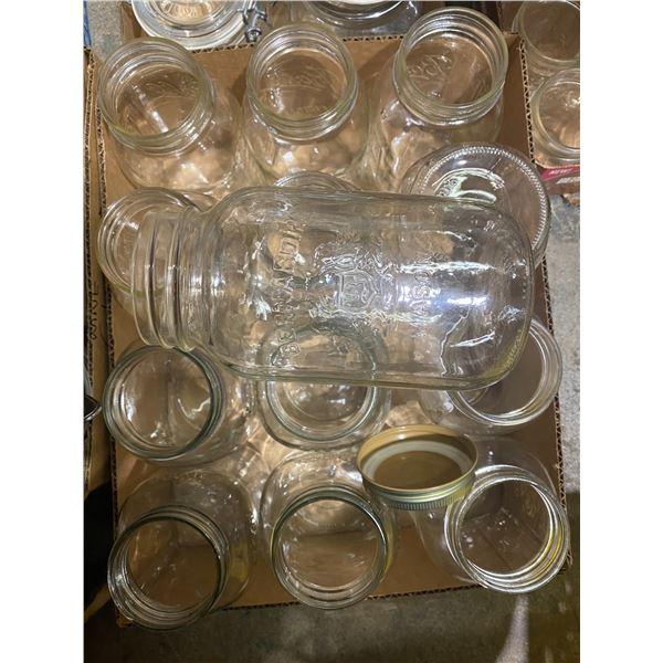 25 1 L canning jars