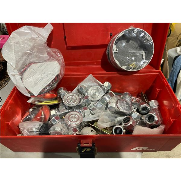 Toolbox and contents