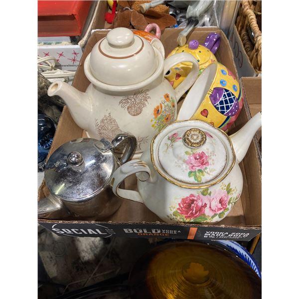 Tea  pots etc
