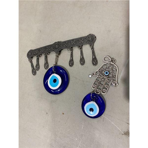 Hamsa eye of Horus etc
