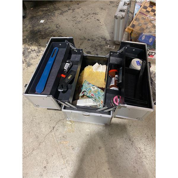 Case shoe polish items