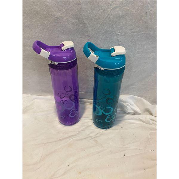 2 new contigo water bottles