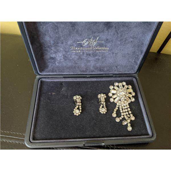 rhinestone jewelry vintage