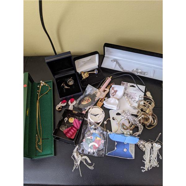 huge jewelry lot pen, craft, etc