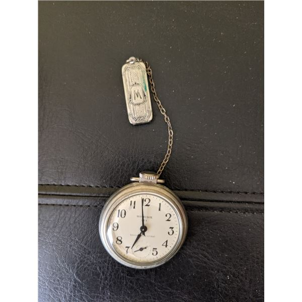 Pocket watch with fob runs