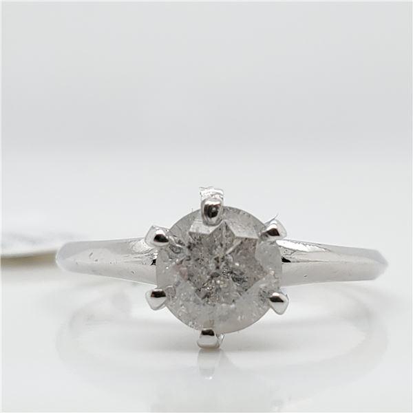 10K DIAMOND (0.9CT) RING SIZE 5.75