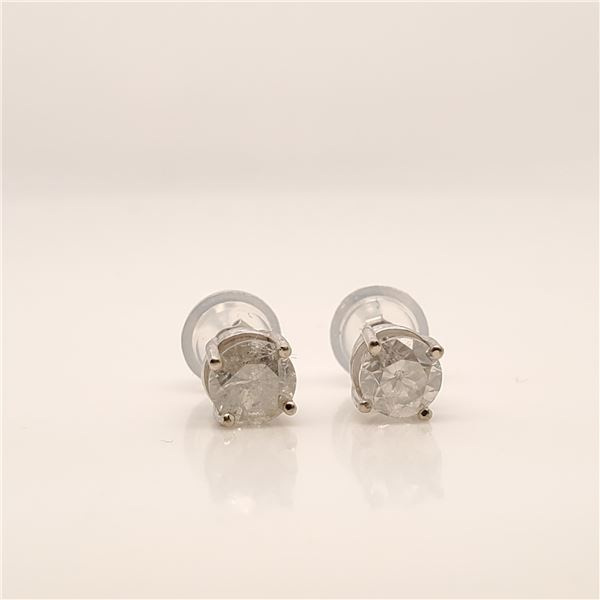 14K DIAMOND (0.72CT) EARRINGS