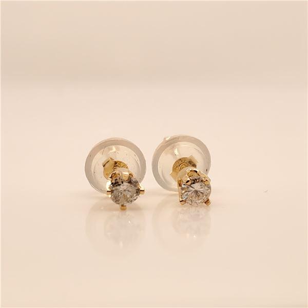 14K DIAMOND (0.16CT) EARRINGS