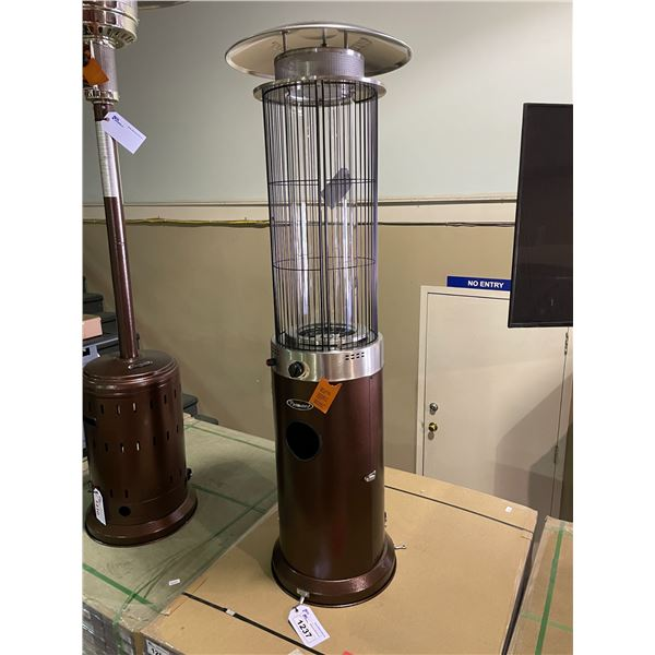 PARAMOUNT PH-F122 BRONZE / STAINLESS STEEL SPIRAL FLAME PROPANE OUTDOOR PATIO HEATER