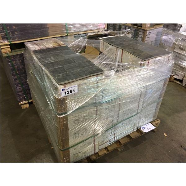 620.88 SQ FT OF DT30123498 GREY STONE SLATE 300 X 300, 9 PCS SHEET CERAMIC FLOOR / WALL TILE