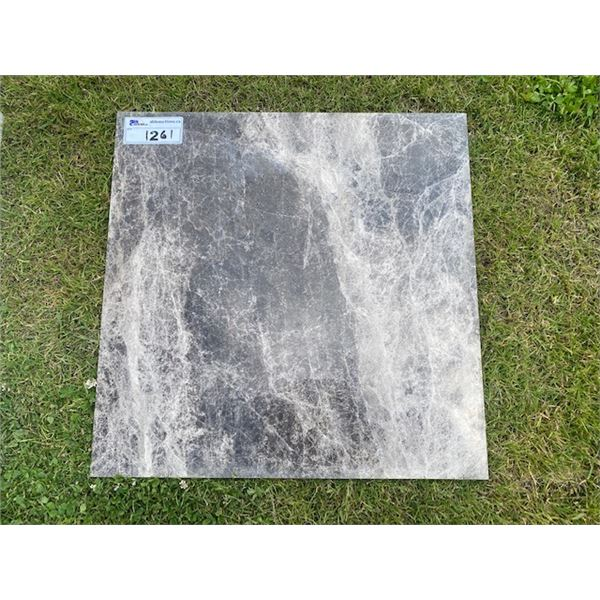 GREY 2'X2' MARBLE TILES 10 PALLETS  **LOCATED IN RICHMOND**